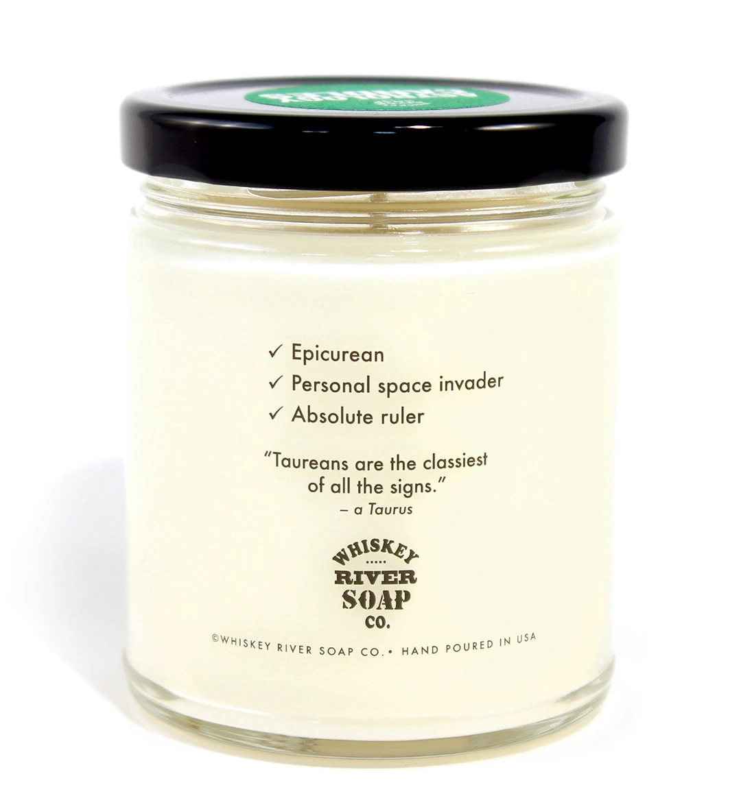 Astrology Candle Taurus - Heart of the Home PA