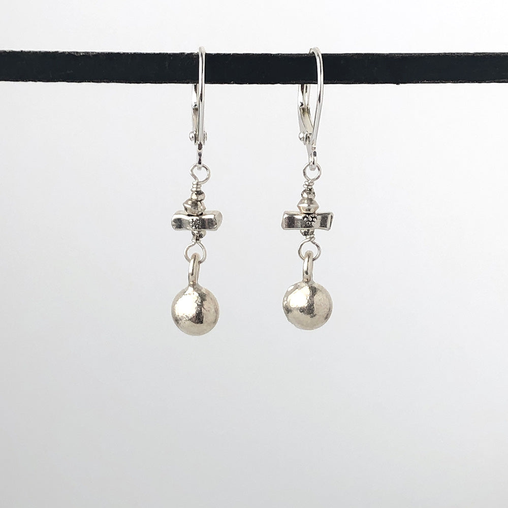 Thai Silver Earrings - Heart of the Home PA