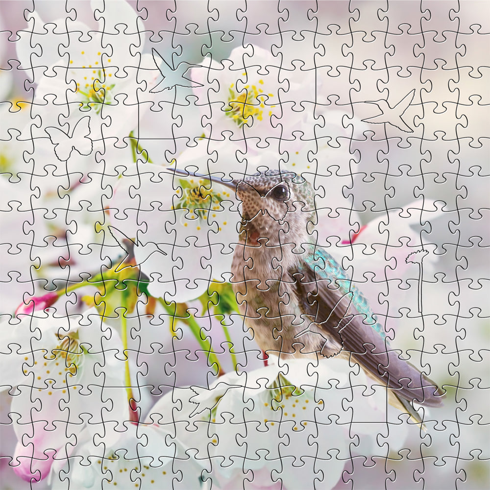 Ana's Hummingbird Zen Puzzle - Heart of the Home PA