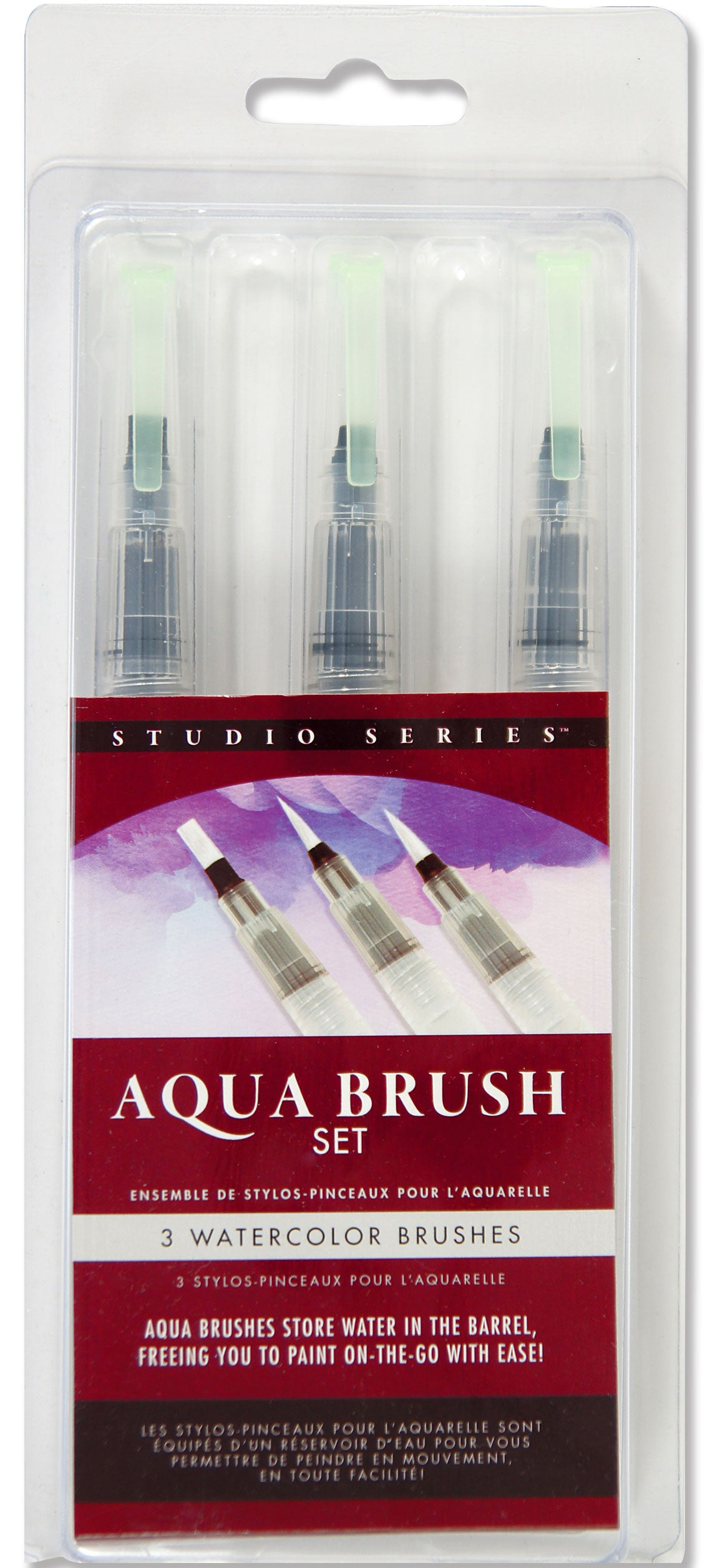 Studio Series Aqua Brushes - Heart of the Home PA