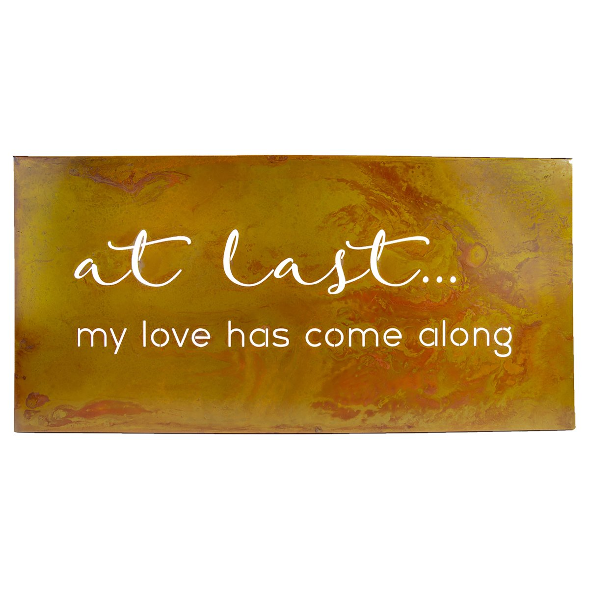 """At Last"" Wall Art - Heart of the Home PA"
