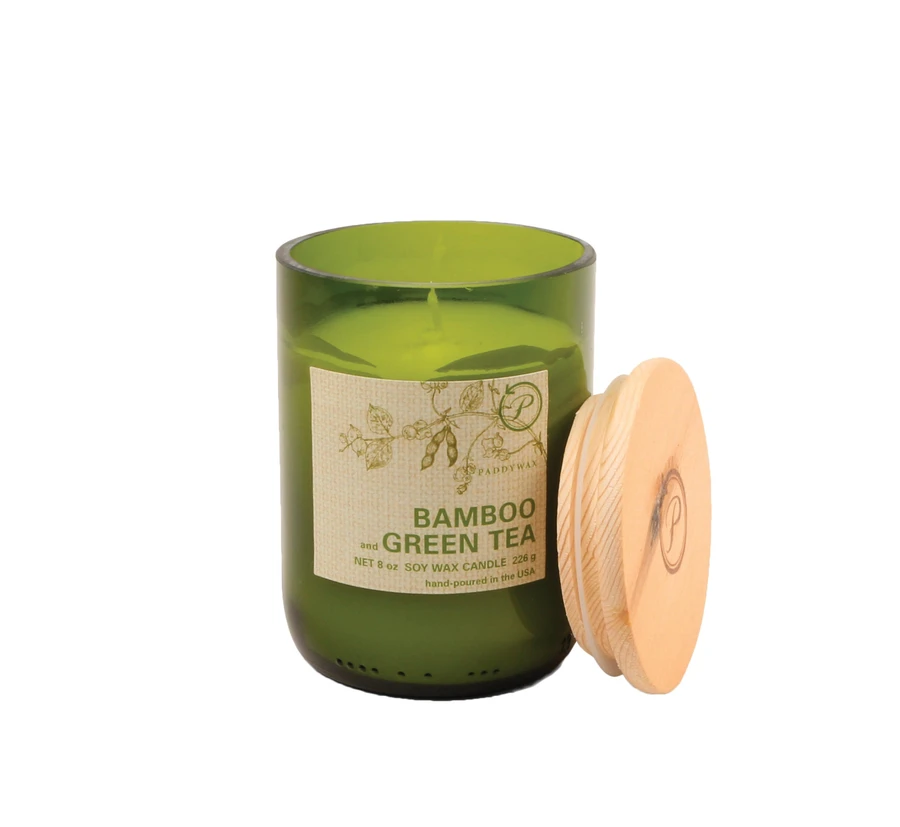Eco Candle - Bamboo & Green Tea - Heart of the Home PA