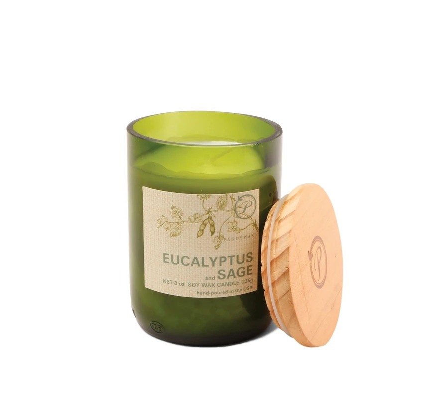 Eco Candle - Eucalyptus & Sage - Heart of the Home PA