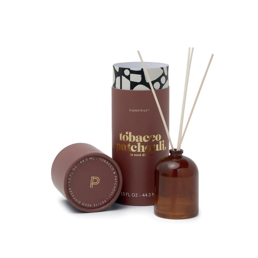 Petite Reed Diffuser - Tobacco & Patchouli - Heart of the Home PA