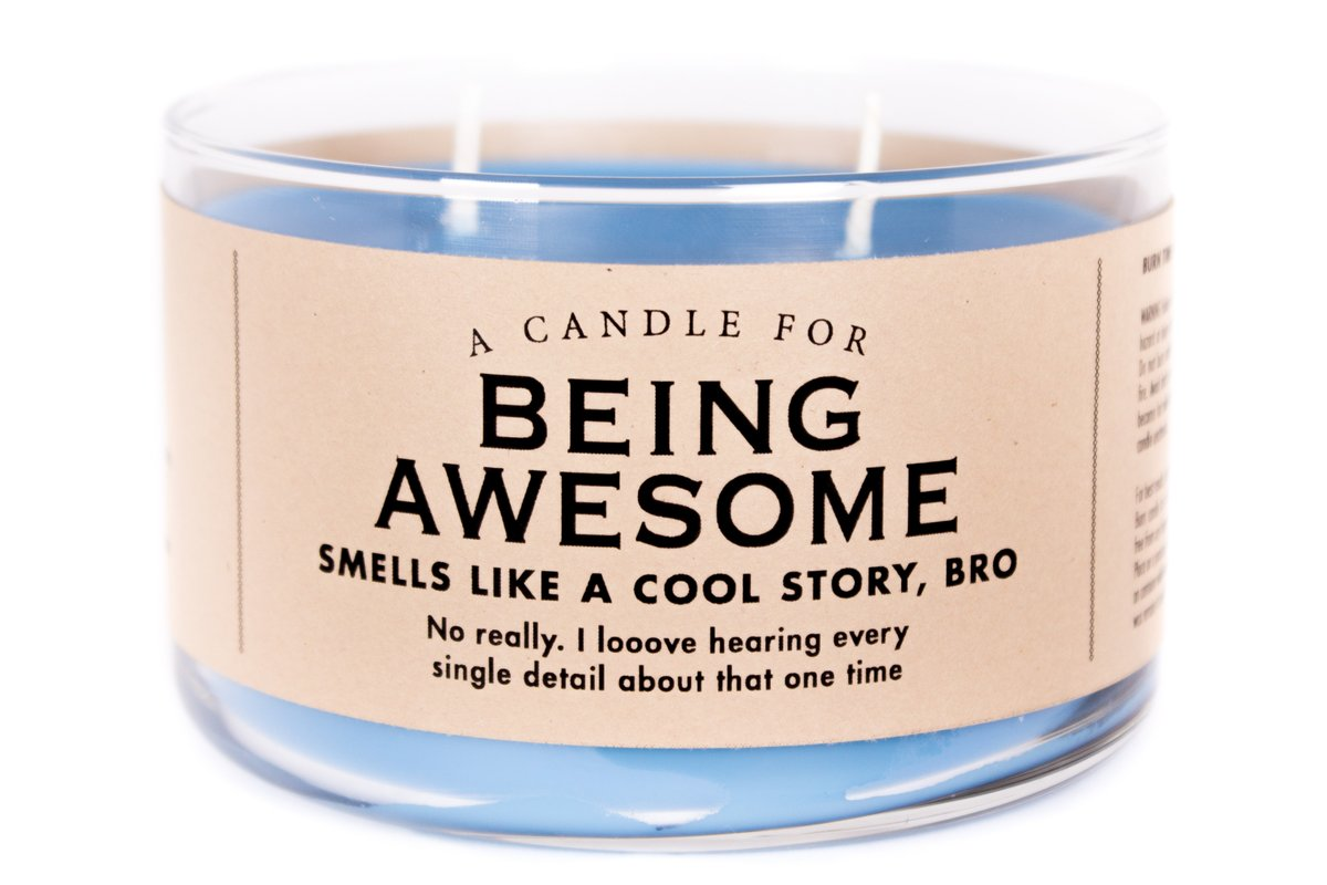 A Candle for Being Awesome - Heart of the Home PA