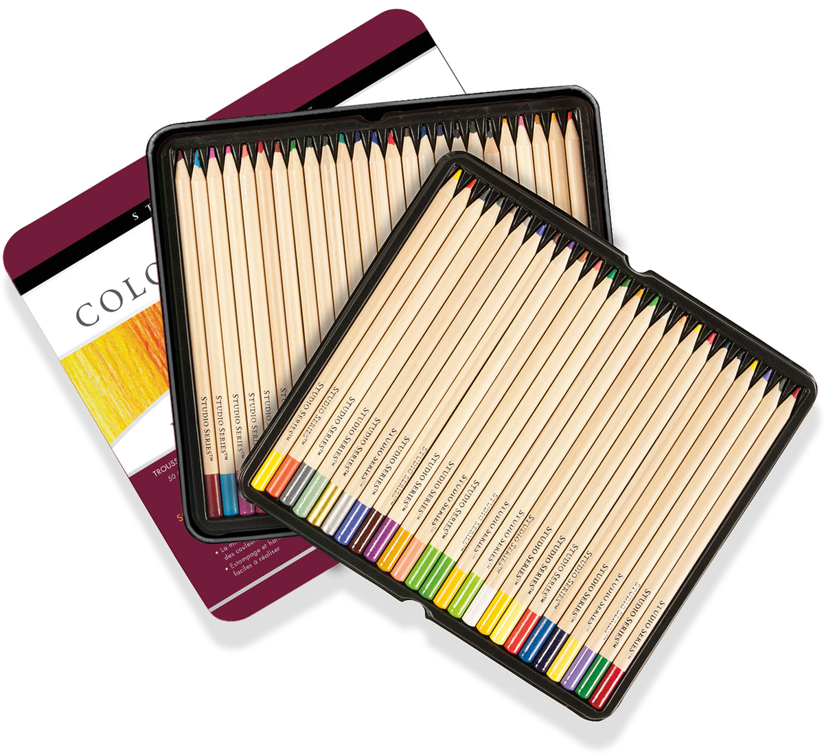 Studio Series Deluxe Colored Pencil Set (Set of 50) - Heart of the Home PA