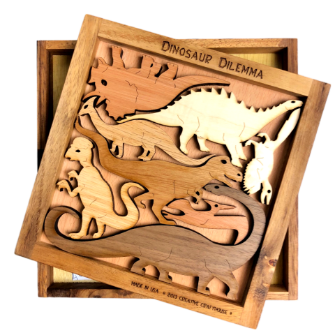 Dinosaur Dilemma Puzzle - Heart of the Home PA