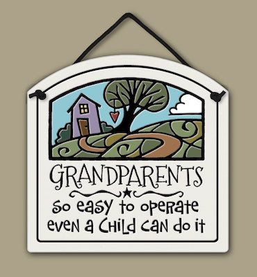 Grandparents Wall Plaque - Heart of the Home PA