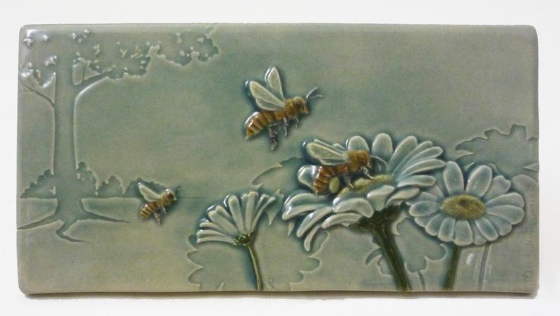Bees Workin for a Livin Ceramic Tile - Heart of the Home PA