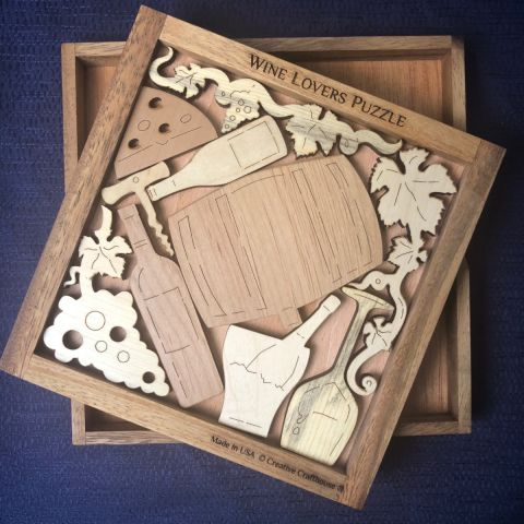 Wine Lovers Puzzle - Heart of the Home PA