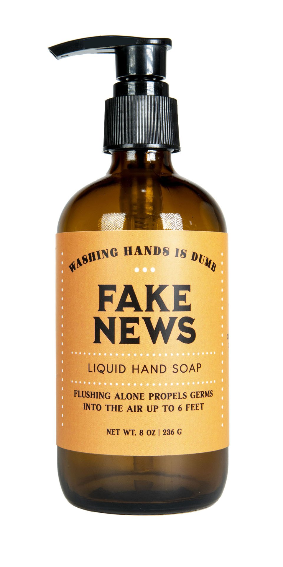 Liquid Hand Soap - Fake News - Heart of the Home PA