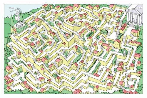From Here to There: A Book of Mazes - Heart of the Home PA