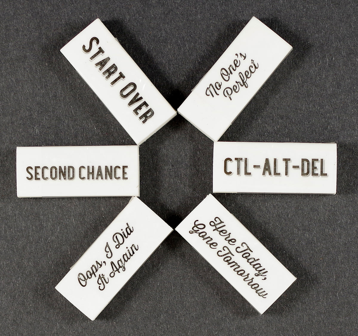 Second Chance Erasers