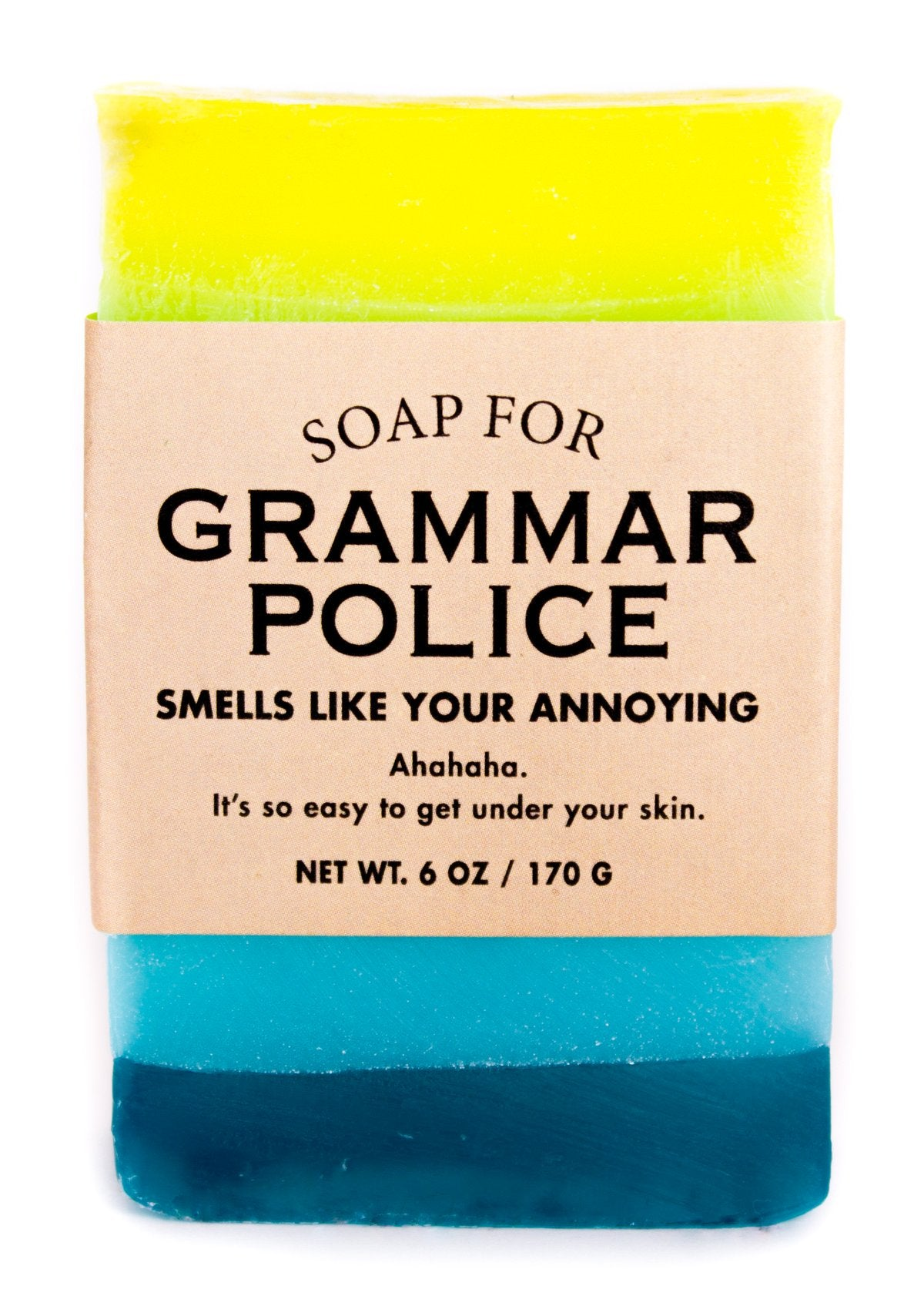 Soap for Grammar Police - Heart of the Home PA