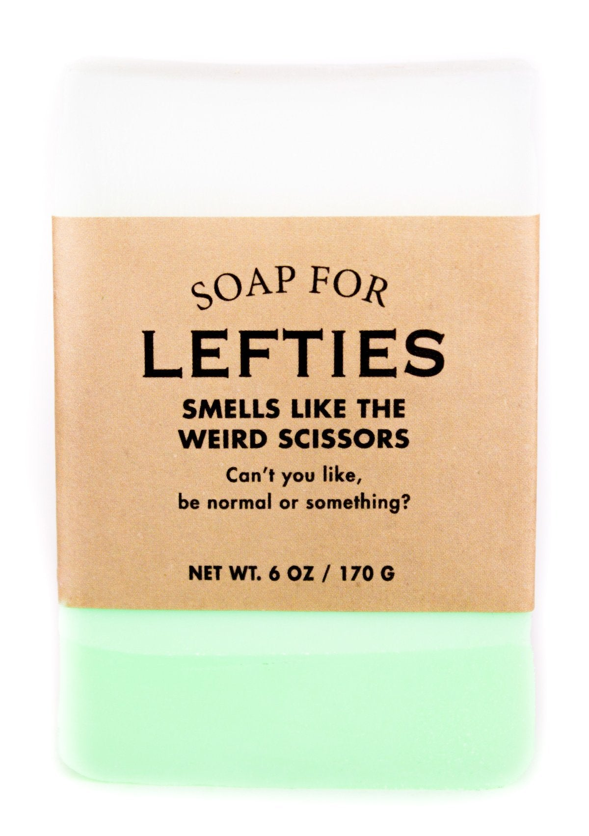 Soap for Lefties - Heart of the Home PA