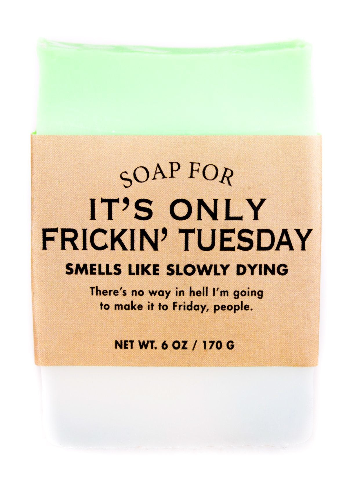Soap for It's Only Frickin' Tuesday - Heart of the Home PA