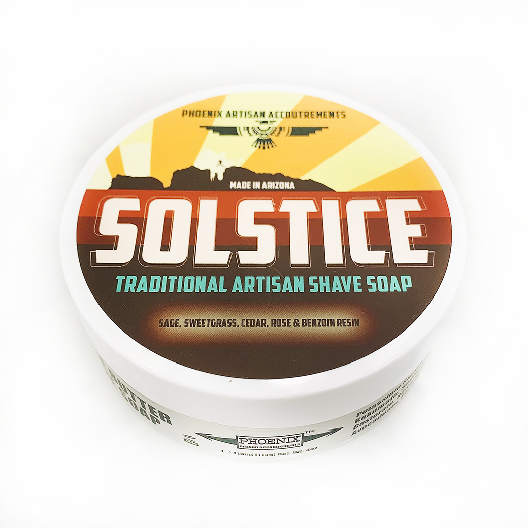 Solstice Artisan Shave Soap - Heart of the Home PA