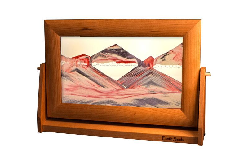Large Cherry Frame Exotic Sands - Heart of the Home PA