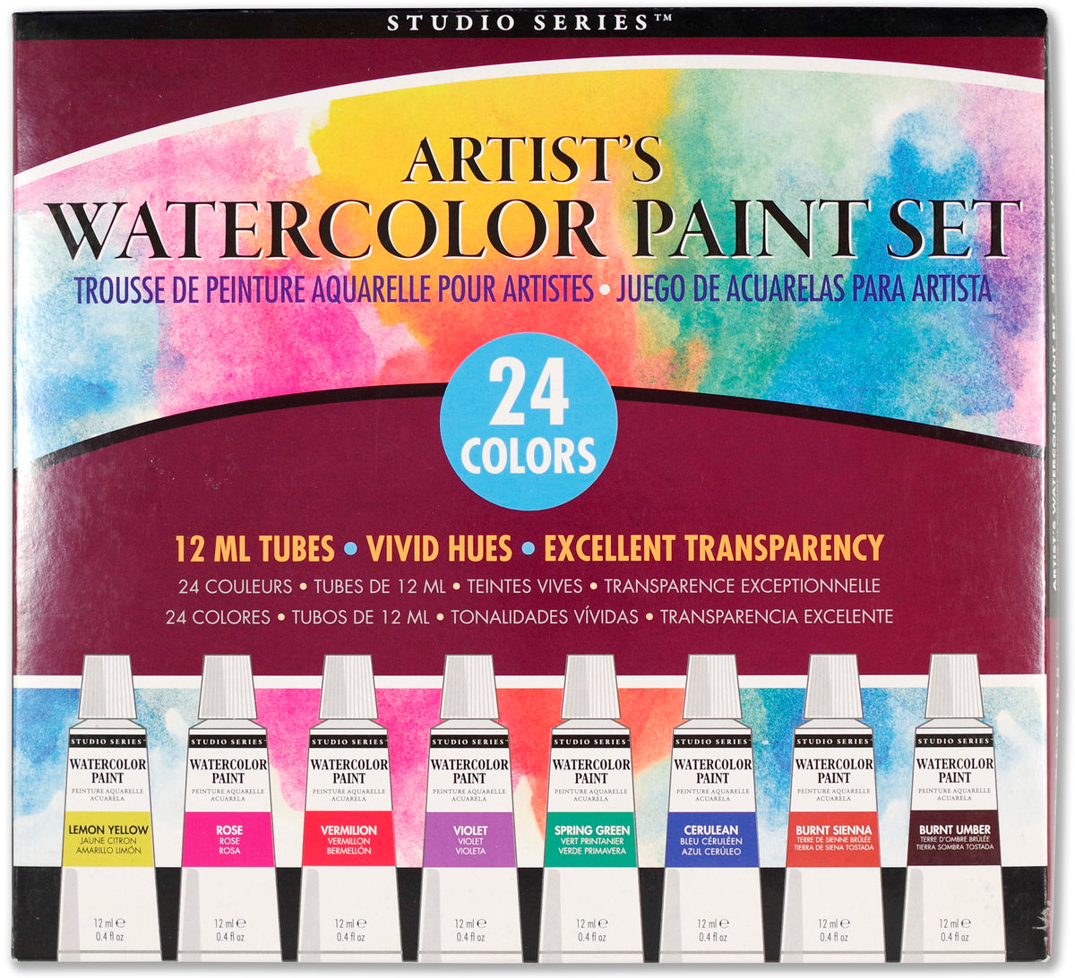 Studio Series Artist's Watercolor Paint Set