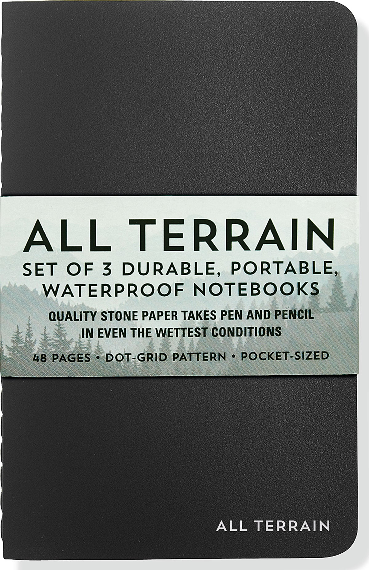 All Terrain: The Waterproof Notebook