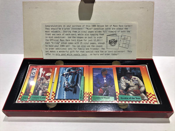 1989 Maxx Race Cards - Box Set