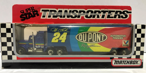 1:64 Matchbox - 1993 Dupont Racing Team Transporter - Jeff Gordon