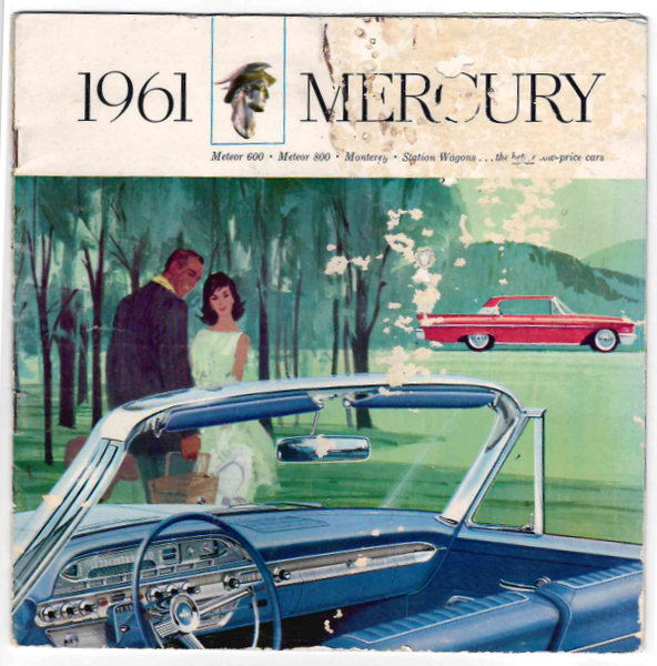 1961 Mercury - Showroom Brochure