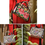 Ethnic embroidery handbag/crossbody bag