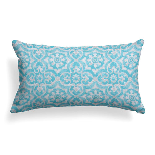 Madrid Lumbar Outdoor Throw Pillow