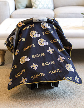 New Orleans Saints Canopy - Shop Baby Slings & wraps, Baby Bedding & Home Decor !