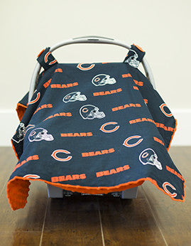 Chicago Bears Canopy - Shop Baby Slings & wraps, Baby Bedding & Home Decor !