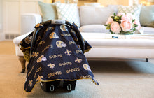 Load image into Gallery viewer, New Orleans Saints Canopy - Shop Baby Slings & wraps, Baby Bedding & Home Decor !