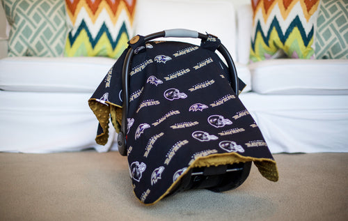 Baltimore Ravens Canopy - Shop Baby Slings & wraps, Baby Bedding & Home Decor !