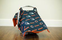 Load image into Gallery viewer, Chicago Bears Canopy - Shop Baby Slings & wraps, Baby Bedding & Home Decor !
