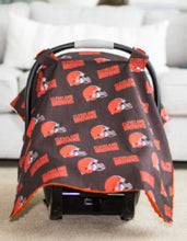 Load image into Gallery viewer, Cleveland Browns Canopy - Shop Baby Slings & wraps, Baby Bedding & Home Decor !