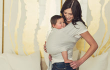 Load image into Gallery viewer, Gray Wrap - Shop Baby Slings & wraps, Baby Bedding & Home Decor !