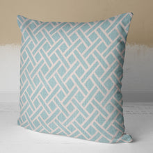 "Load image into Gallery viewer, Fusion Aqua 18"" Pillow - Shop Baby Slings & wraps, Baby Bedding & Home Decor !"