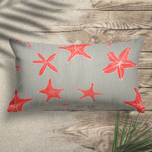 "Load image into Gallery viewer, Bali Coral 14""x24"" Lumbar Pillow - Shop Baby Slings & wraps, Baby Bedding & Home Decor !"