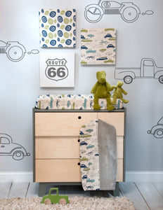Uptown Traffic Changing Pad Cover - Shop Baby Slings & wraps, Baby Bedding & Home Decor !