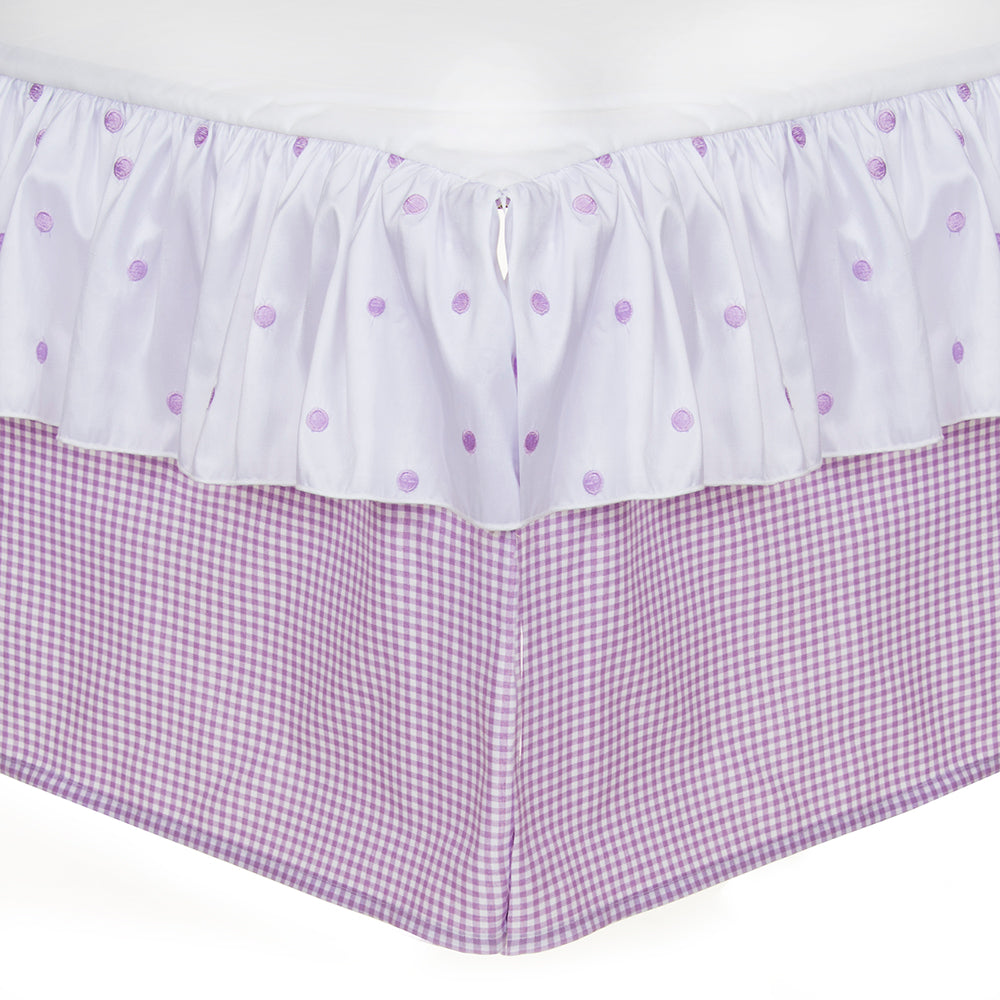 SWEET PEA CRIB SKIRT (16
