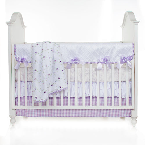 SWEET PEA 4PC SET (INCLUDES QUILT, TOILE SHEET, SKIRT & LONG RAIL CVR) - Shop Baby Slings & wraps, Baby Bedding & Home Decor !