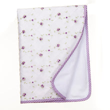 Load image into Gallery viewer, SWEET PEA 3PC SET (INCLUDES QUILT, GINGHAM SHEET, CRIB SKIRT) - Shop Baby Slings & wraps, Baby Bedding & Home Decor !
