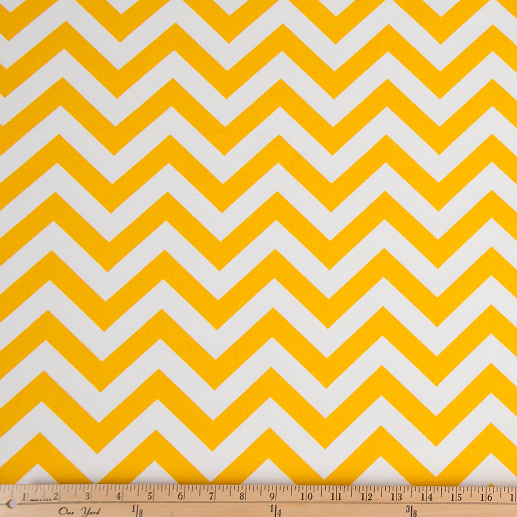 Yellow Swizzle Chevron Fabric - Shop Baby Slings & wraps, Baby Bedding & Home Decor !