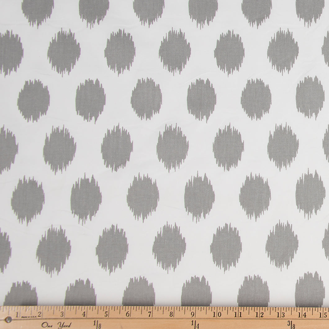 Swizzle Grey Dot Fabric - Shop Baby Slings & wraps, Baby Bedding & Home Decor !