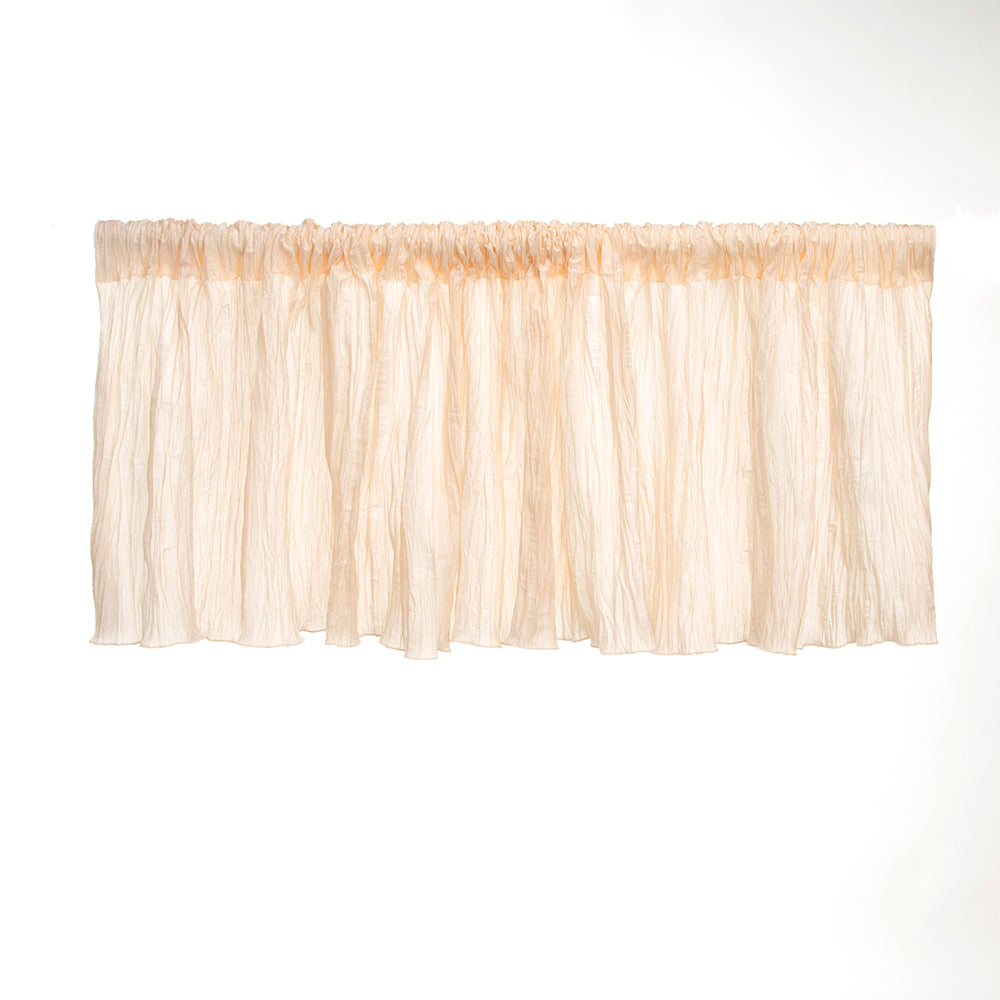 "Anastasia Cream Valance (70x23"") - Shop Baby Slings & wraps, Baby Bedding & Home Decor !"