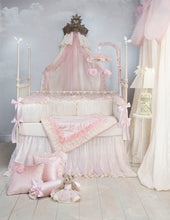 Load image into Gallery viewer, Anastasia Cream Bumper - Shop Baby Slings & wraps, Baby Bedding & Home Decor !