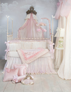 Anastasia Cream Bumper - Shop Baby Slings & wraps, Baby Bedding & Home Decor !