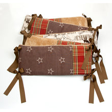 Load image into Gallery viewer, CARSON 4PC SET (INCLUDES QUILT, COWBOY PRINT SHEET, CRIB SKIRT AND BUMPER) - Shop Baby Slings & wraps, Baby Bedding & Home Decor !