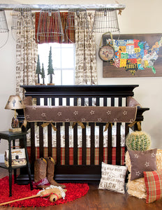 Carson Crib Rail Protector - Shop Baby Slings & wraps, Baby Bedding & Home Decor !