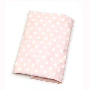 Victoria Fitted Sheet (Pink Dot) - Shop Baby Slings & wraps, Baby Bedding & Home Decor !